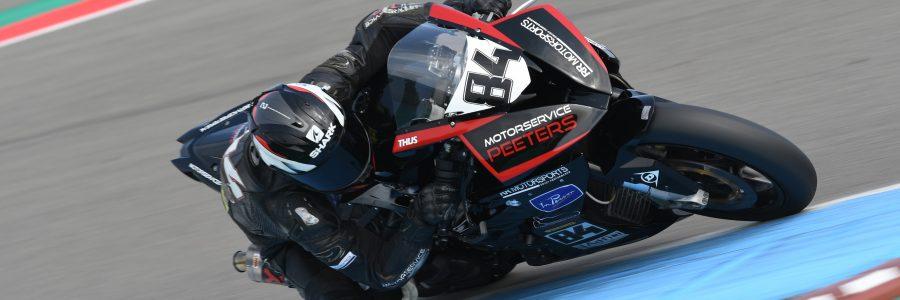 Tijdschema race 2 in Assen
